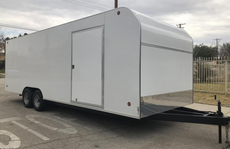 2017 Apache 8.5x24 Enclosed Cargo Trailer