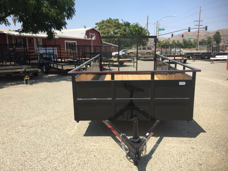 2018 Mirage Trailers 6x12 Landscape Equipment Trailer
