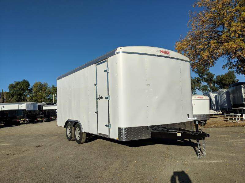 2019 Mirage 8.5X16 XPO Enclosed Trailer