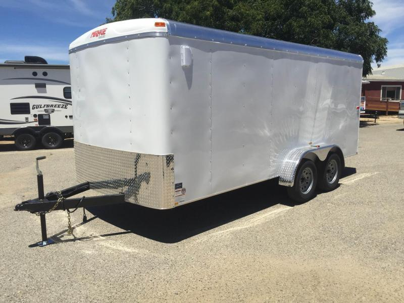 2016 Mirage Trailers 7x14 XCEL Enclosed Cargo Trailer