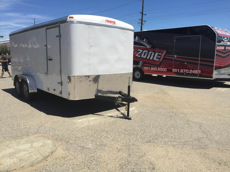 2018 Mirage Trailers 7x16 Excel Enclosed Cargo Trailer