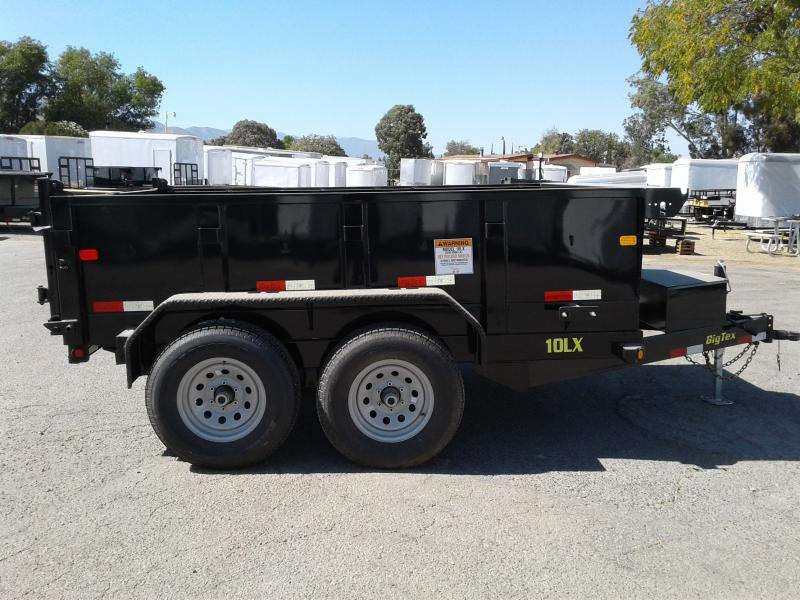 2018 Big Tex Trailers 7X10 10LX Dump Trailer