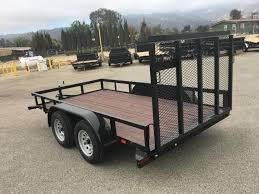 2019 Sun Country SUTA 77x12 Utility Trailer