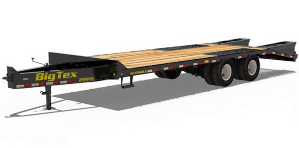 2019 Big Tex Trailers 22PH-25+5 Equipment Trailer