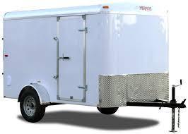 2019 Mirage Trailers 6x10 Xcel Enclosed Cargo Trailer