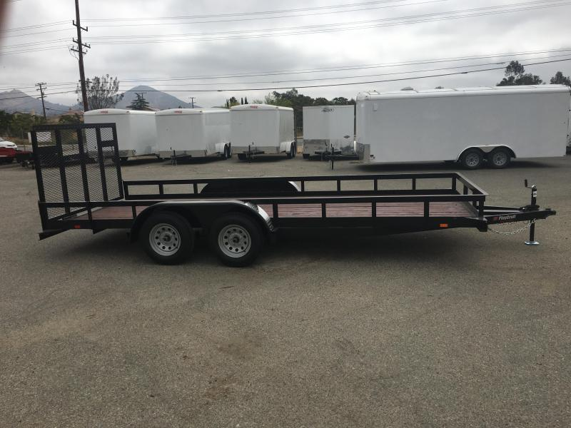 2018 Sun Country SUTA 82 x 16 Utility Trailer