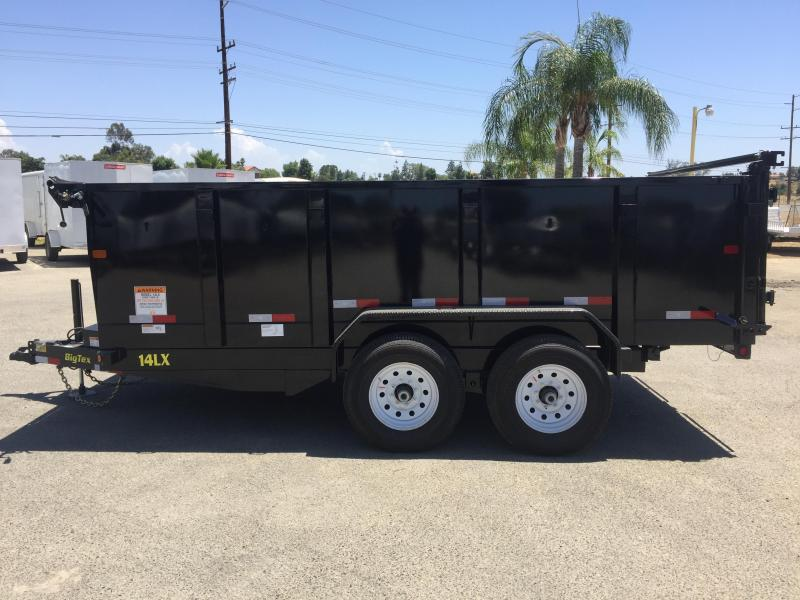 2017 Big Tex Trailers 7X14 14LX Dump Trailer
