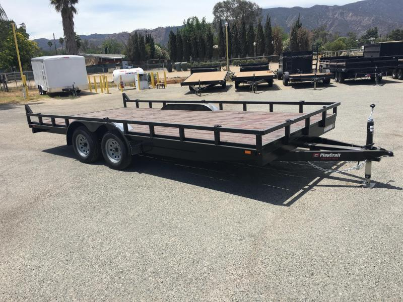 2018 Playcraft RV16 Utility Trailer