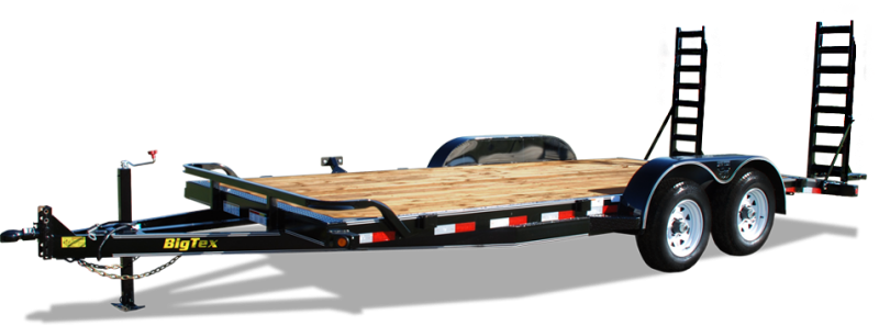 2017 Big Tex Trailers 10ET-18 Equipment Trailer