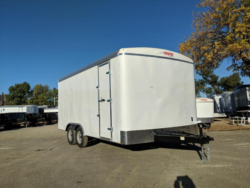 2018 Mirage 8.5X16 XPO Enclosed Trailer
