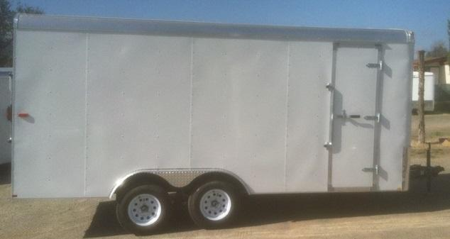 2018 Mirage Trailers XPO 8.5 x 18TA2 Enclosed Cargo Trailer