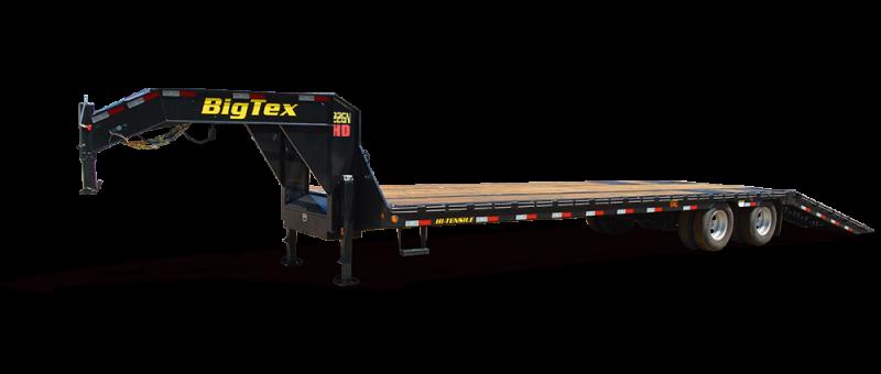 2017 Big Tex Trailers 22GN-355 Equipment Trailer