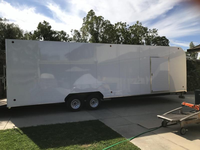 2018 Apache Trailers 8.5X30 Enclosed Cargo Trailer