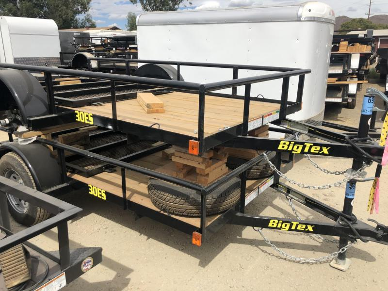 2019 Big Tex Trailers 30ES 5x10 Utility Trailer