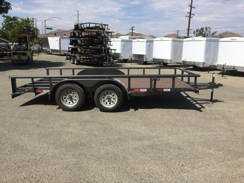 2017 Playcraft PIPE TOP 82X14 Utility Trailer