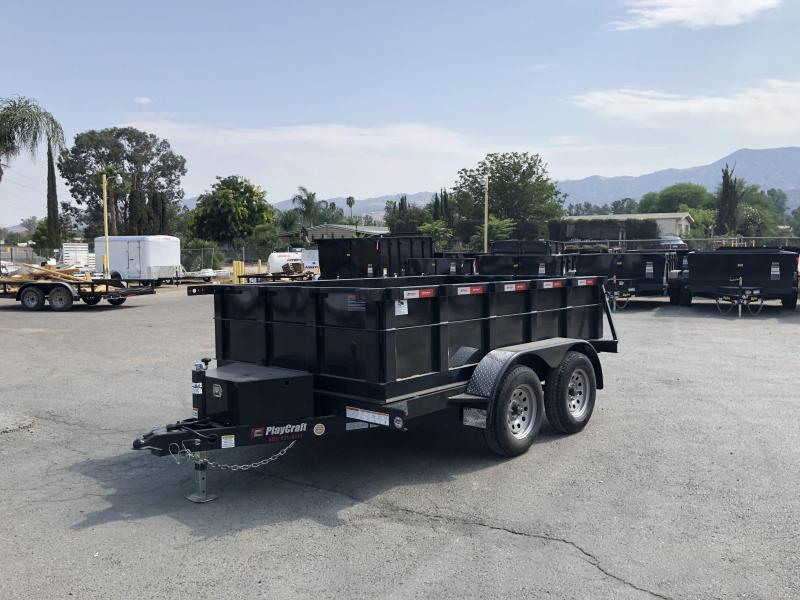 2019 Playcraft 5x10 7k Dump Trailer