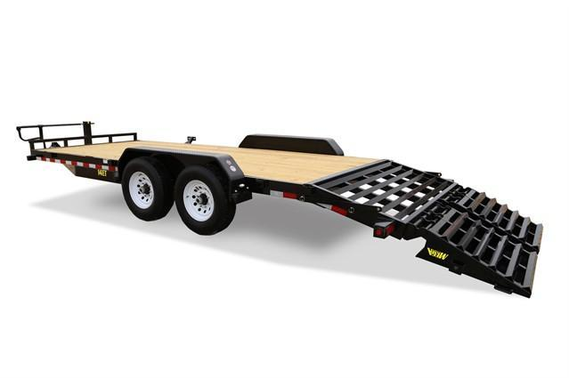 2020 Big Tex Trailers 14ET-20 MEGA RAMPS EQUIPMENT TRAILER