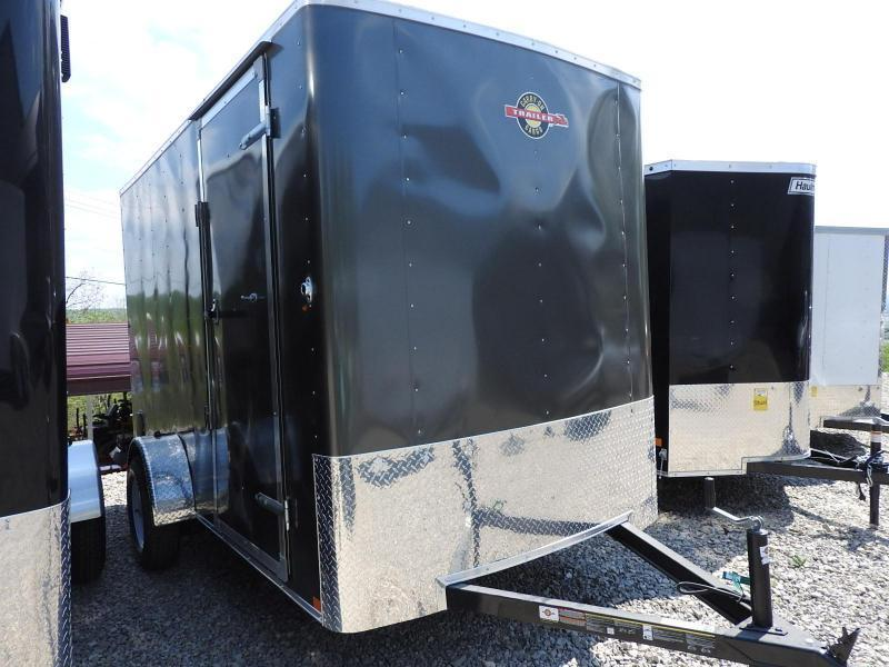 "2018 Carry-On 6x12 CGRCM w/ 9"" Extra Height Enclosed Cargo Trailer"