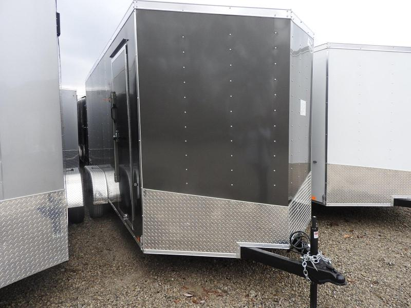 "2019 Formula Trailers Conquest 7x16 12"" Extra Height Enclosed Cargo Trailer"