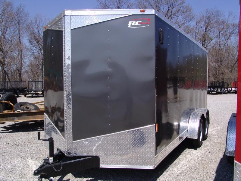 2014 RC RWT 7X16 TA Cargo / Enclosed Trailer