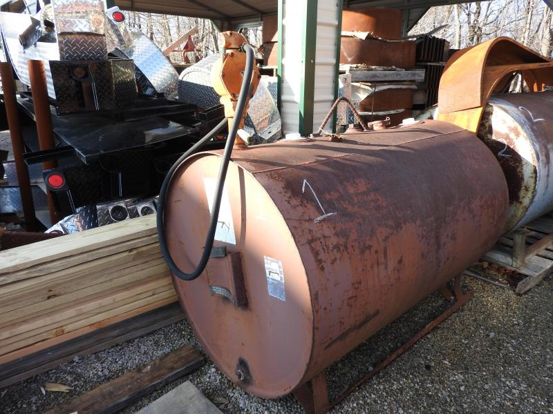 Hamilton Fuel Tank 275 Gallon Tank with Pump - Tank #1