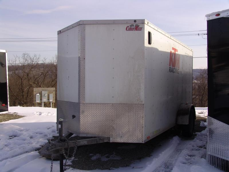2011 Cargo Mate LEEH612SA 6X12 Enclosed Trailer Ramp Door