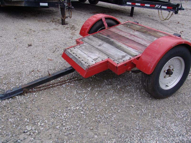 2000 Homemade Little Red Coke Utility Trailer
