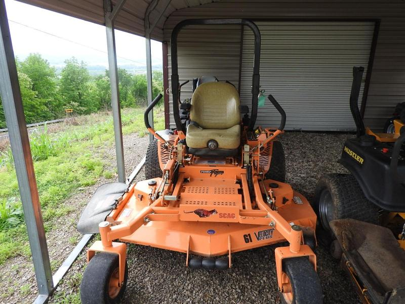"2013 Scag Power Equipment 61"" Cut Turf Tiger Lawn"