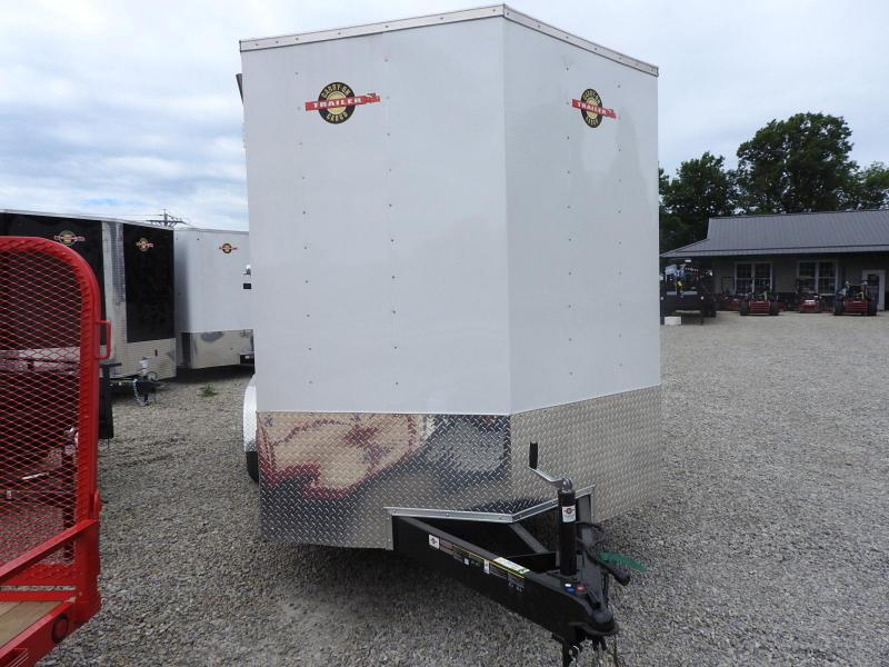 "2018 Carry-On 7x16 w/ 9"" Extra Height CGRCM Enclosed Cargo Trailer"