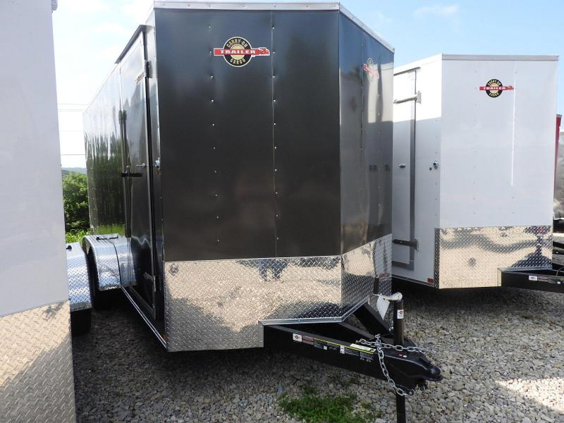 """2018 Carry-On 7x16 w/ 9"""" Extra Height CGRCM Enclosed Cargo Trailer"""