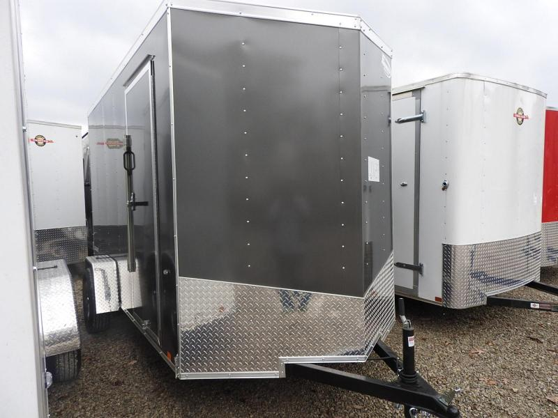 "2019 Formula Trailers Conquest 6x12 12"" Extra Height Enclosed Cargo Trailer"