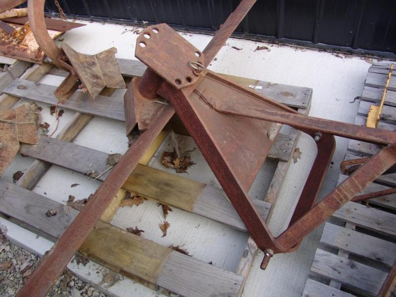 IH 6' Bade 6' Grader Blade 3 Point Hitch