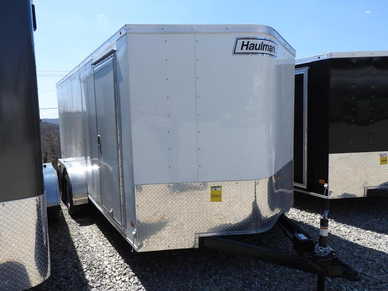 "2019 Haulmark PPT 7x16 w/ 6"" Extra Height Enclosed Cargo Trailer"