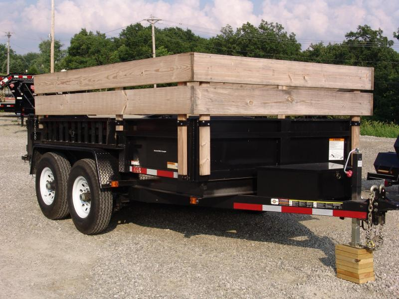 2014 Carry-On 7x12 Dump LP12K Dump Trailer