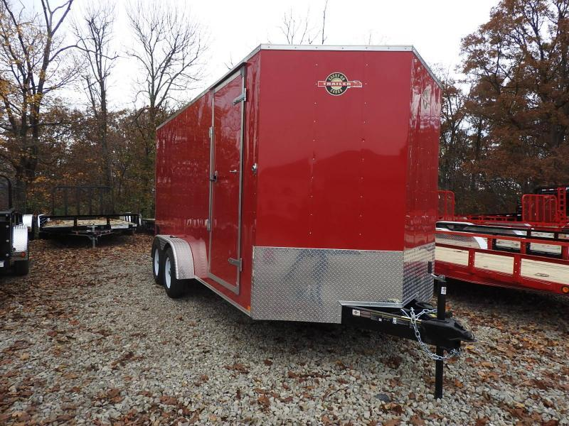 "2019 Carry-On 7x16 w/ 9"" Extra Height CGRCM Enclosed Cargo Trailer"