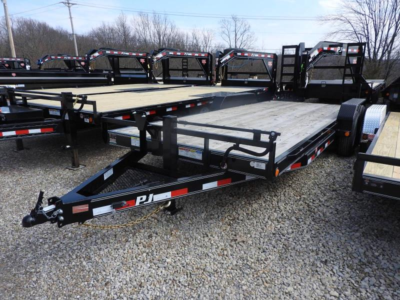 "2020 PJ CC 20' x 83"" Equipment Trailer 14000 GVW"