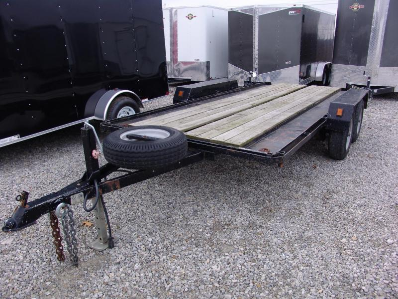 1976 Homemade Utility Trailer Tandem Axle