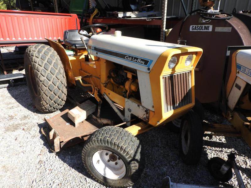 1970 International 154 Cub Cadet Lo-Boy Tractor