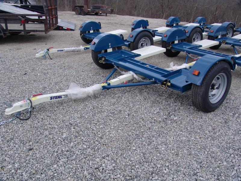 2015 Stehl ST80TD Tow Dolly LED Lights Radial Tires
