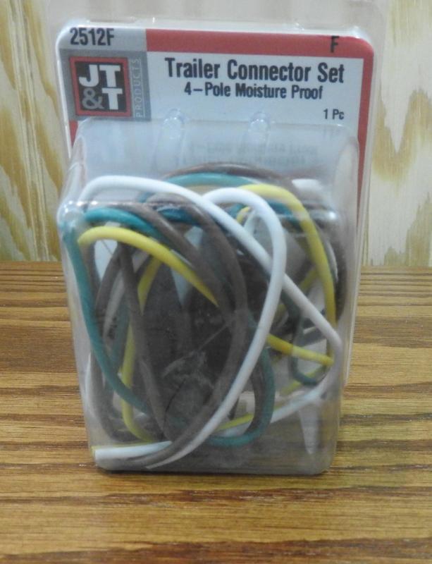 Trailer Connector Set 4-Pole Moisture Proof