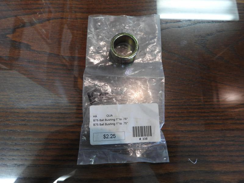 "B75 Ball Bushing 1"" to .75"""