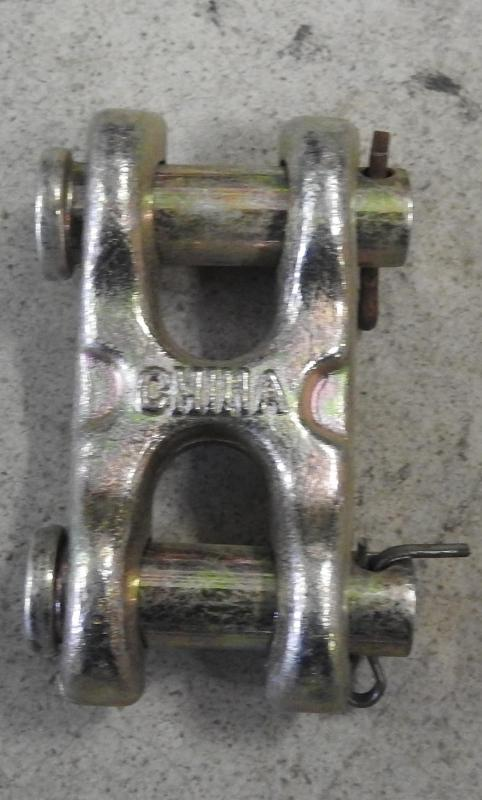 """3/8"""" Twin Clevis Grade 70 6600 WLL"""