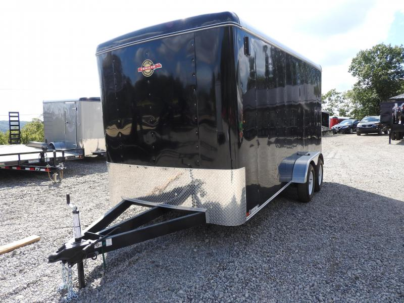 "S&D - 2018 Carry-On 7 x 16 CGR 12"" Extra Height Enclosed Cargo Trailer"
