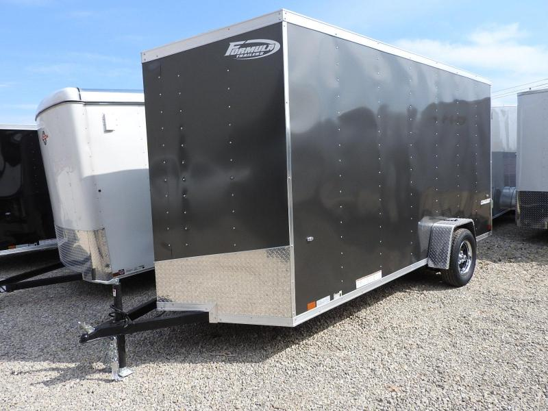 "2020 Formula Trailers Conquest 6 x 14 12"" Extra Height Enclosed Cargo Trailer"