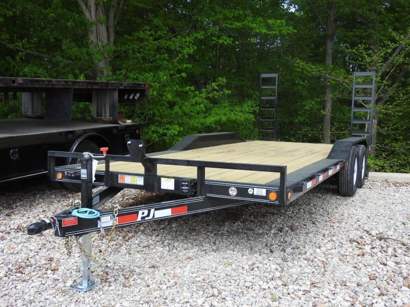 "2018 PJ B5 20' x 102"" 9899 GVW Car / Racing Trailer"