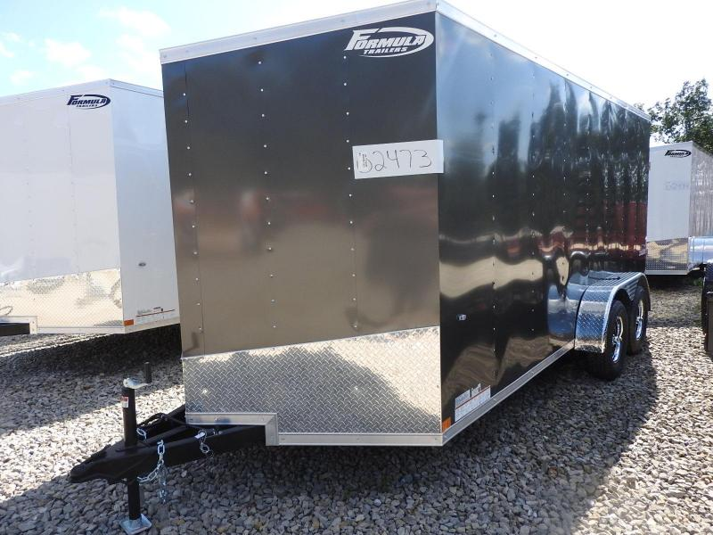 "2020 Formula Trailers Conquest 7x16 6"" Extra Height Enclosed Cargo Trailer"