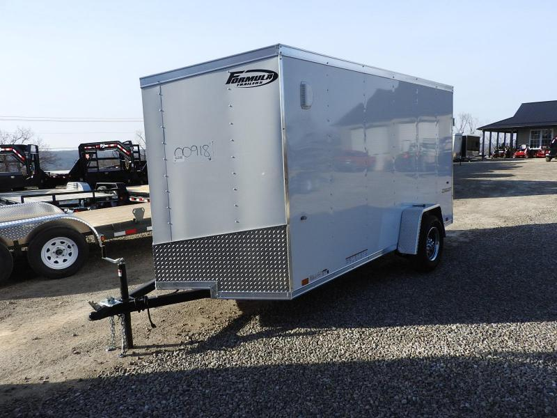 2020 Formula Trailers Conquest 6 x 12 Enclosed Cargo Trailer