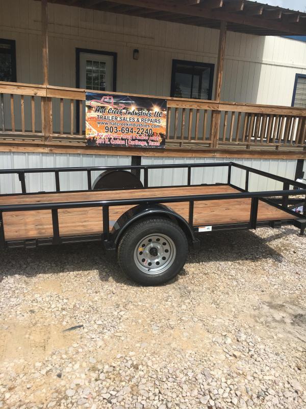2019 Texas Bragg Trailers NA610P29 Utility Trailer