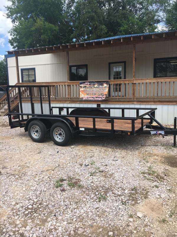 2019 Texas Bragg Trailers NA14P45 Utility Trailer