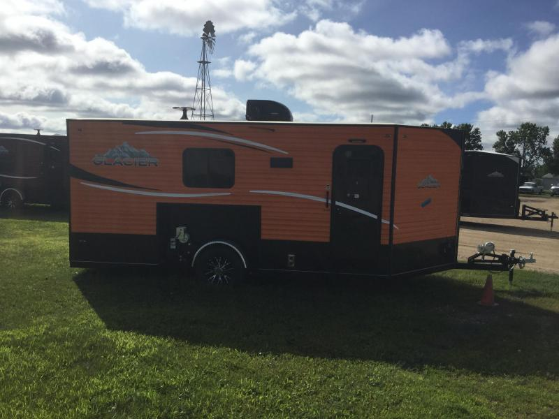 2018 Glacier 16ft Ice/Fish House Trailer